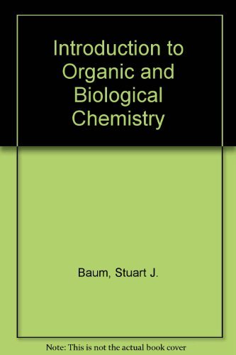 9780023065705: Introduction to Organic and Biological Chemistry