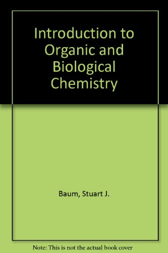 9780023065804: Introduction to Organic and Biological Chemistry