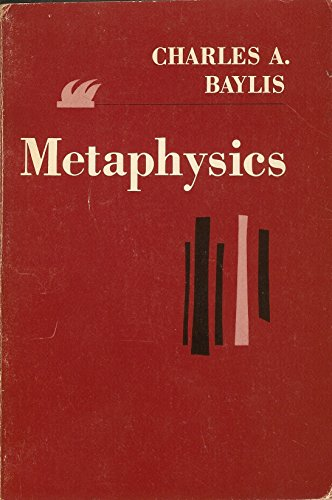 9780023068201: Metaphysics