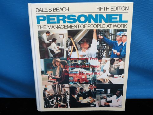 9780023070600: Personnel: The Management of People at Work