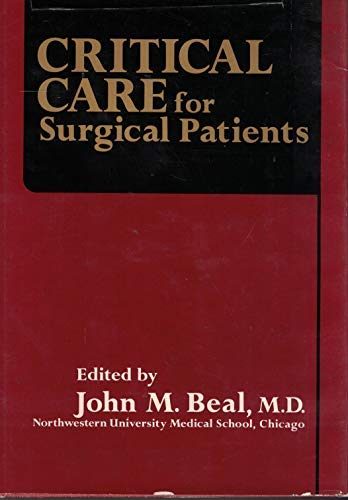 9780023074103: Critical Care for Surgical Patients