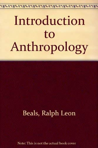 9780023074509: An Introduction to Anthropology