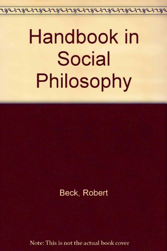 9780023078200: Handbook in Social Philosophy
