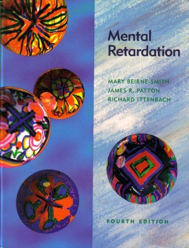 9780023078835: Mental Retardation