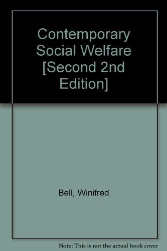 9780023079405: Contemporary Social Welfare [Second 2nd Edition]