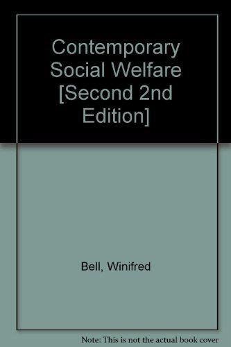 9780023079405: Contemporary social welfare