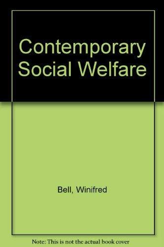 9780023079412: Contemporary Social Welfare