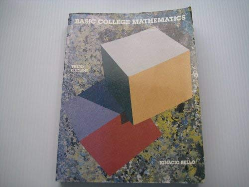 9780023079511: Basic College Mathematics