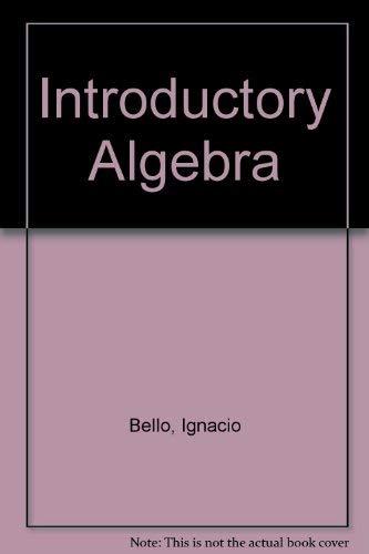 9780023079610: Introductory Algebra