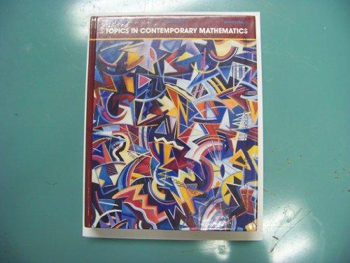 9780023080616: Topics in Contemporary Mathematics