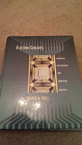 9780023081118: Electric Circuits: Principles, Applications, and Computer Analysis