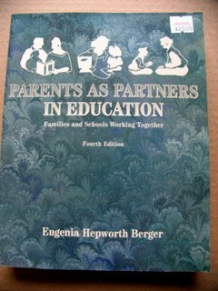 9780023082610: Parents As Partners in Education: Families and Schools Working Together