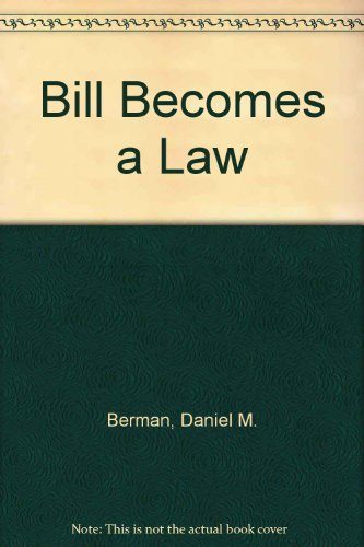 9780023085000: Bill Becomes a Law