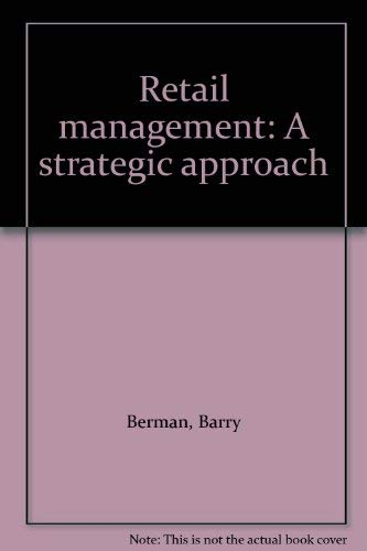 9780023085208: Retail management: A strategic approach
