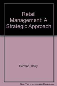 9780023086410: Retail Management: A Strategic Approach