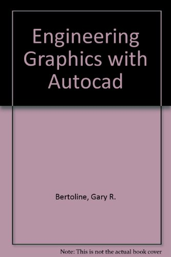 9780023090301: AutoCAD for Engineering Graphics