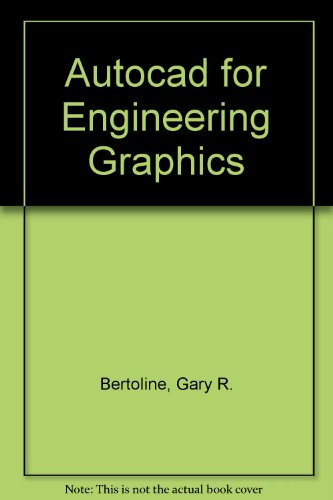 9780023090424: Autocad for Engineering Graphics