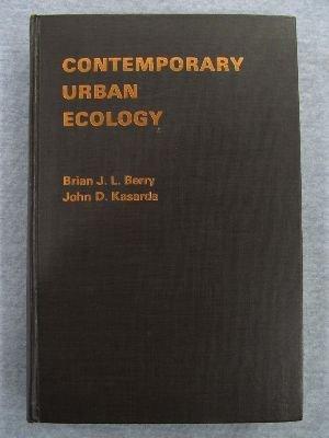Contemporary Urban Ecology: Berry, Brian J.L.