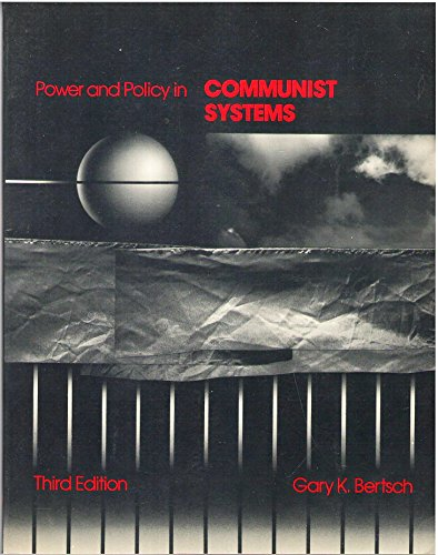 9780023091209: Power and Policy in Communist Systems