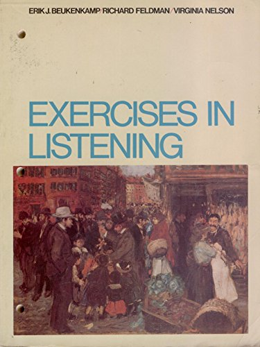 9780023092008: Exercises in Listening Text