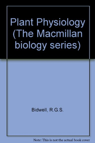 9780023094408: Plant Physiology (The Macmillan biology series)