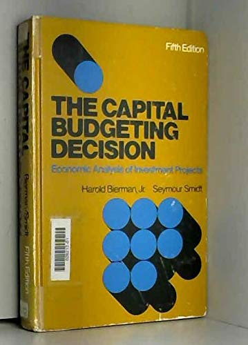 9780023094804: Capital Budgeting Decision