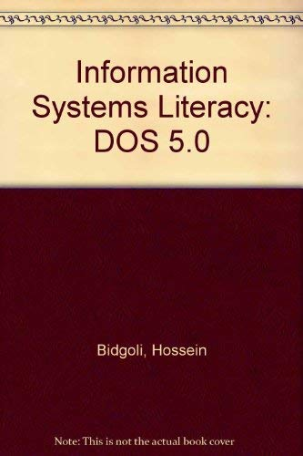 9780023095214: Information Systems Literacy: DOS 5.0