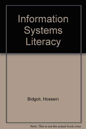 9780023095450: Information Systems Literacy