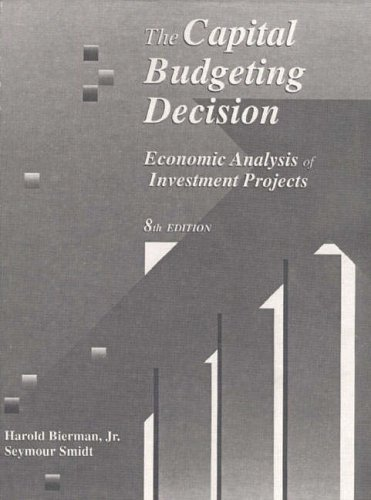 9780023099434: The Capital Budgeting Decision: Economic Analysis of Investment Projects