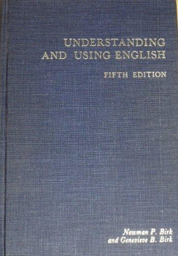 9780023100505: Understanding and Using English