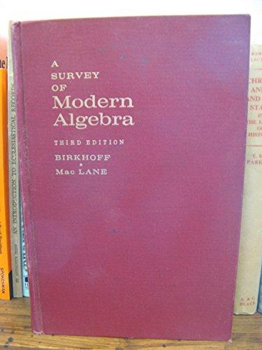 9780023100604: Survey of Modern Algebra