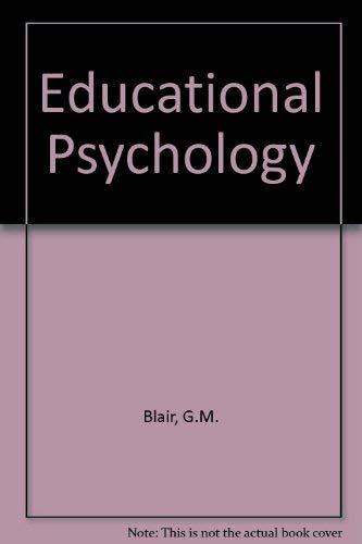 9780023105203: Educational Psychology