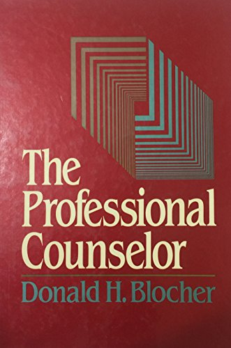 9780023107504: The Professional Counselor