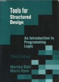 9780023118616: Tools for Structured Design: An Introduction to Programming Logic