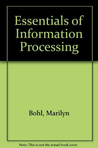 9780023119316: Essentials of Information Processing