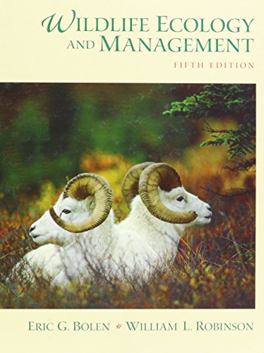 9780023119514: Wildlife Ecology and Management