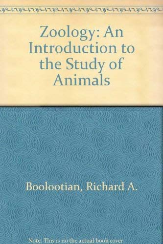 9780023120305: Zoology: An Introduction to the Study of Animals