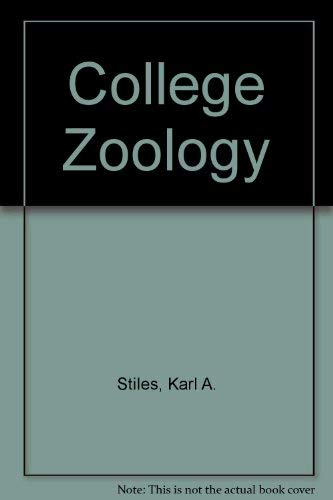 9780023120404: College Zoology