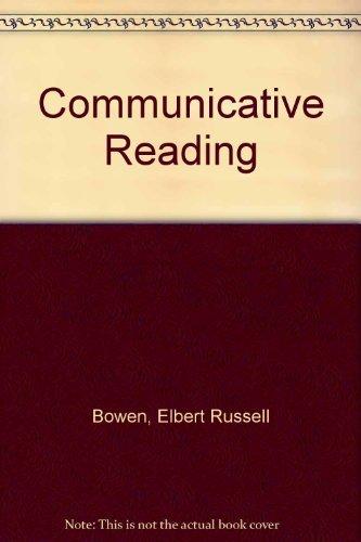 9780023130007: Communicative Reading