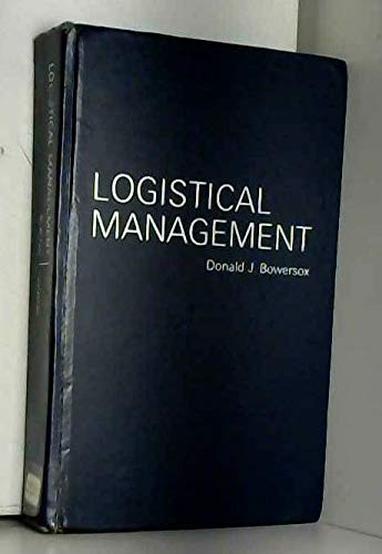 9780023130502: Logistical Management