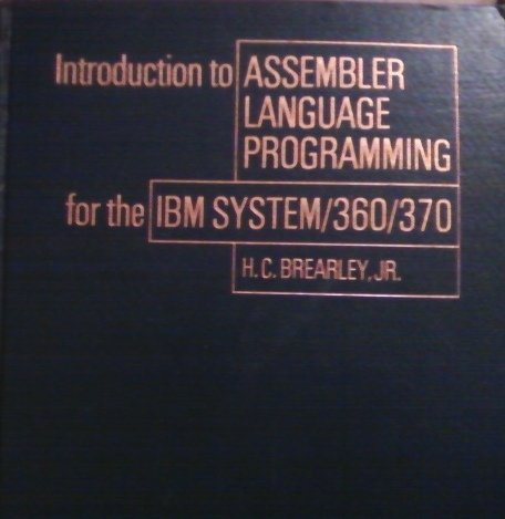 9780023138003: Introduction to Assembler Language Programming for the I. B. M. System 360/370