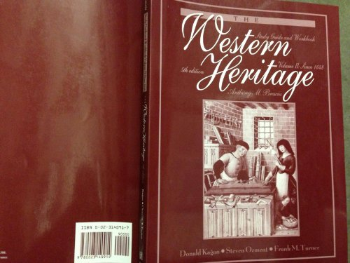 9780023140914: The Western Heritage, Vol. 2, Since 1648, Study Guide and Workbook