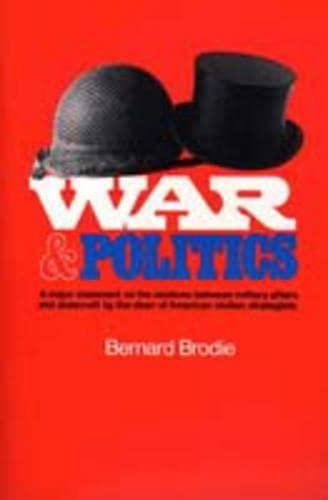 9780023150203: War and Politics