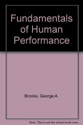 9780023151507: Fundamentals of Human Performance