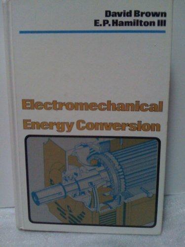 9780023155901: Electromechanical Energy Conversion