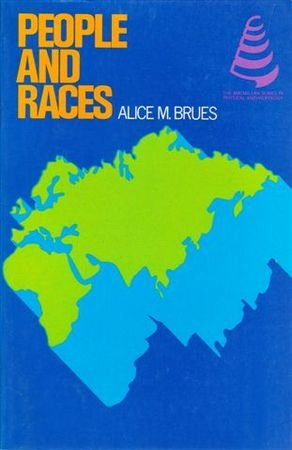 9780023156700: People and Races (The Macmillan series in physical anthropology)