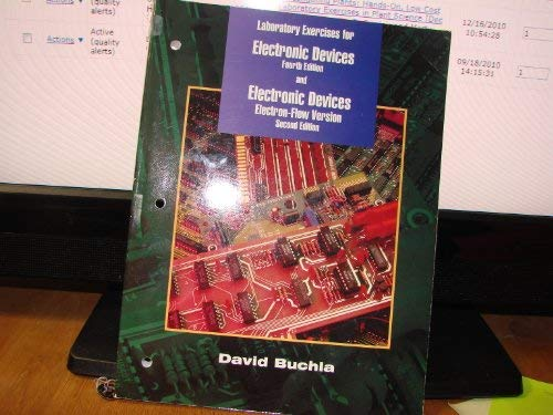 Laboratory Exercise Manual for Electronic Devices: David Buchla