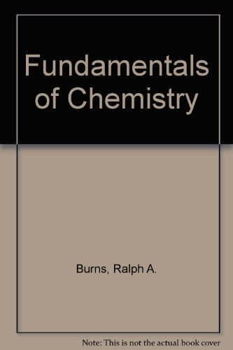 9780023171918: Fundamentals of Chemistry