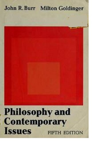 9780023172601: Philosophy and Contemporary Issues