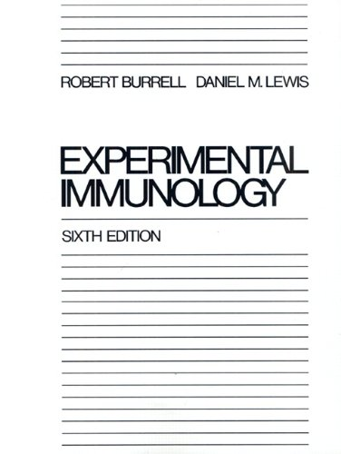 9780023172908: Experimental Immunology (6th Edition)